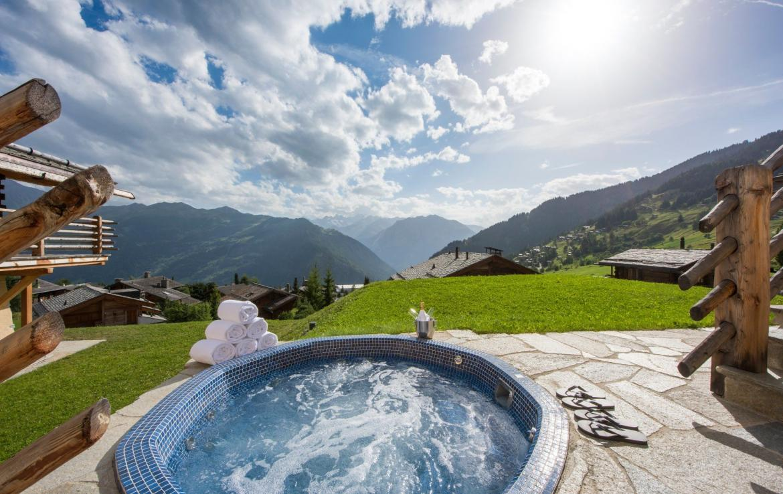 LUXURY SUMMER CHALET SWITZERLAND