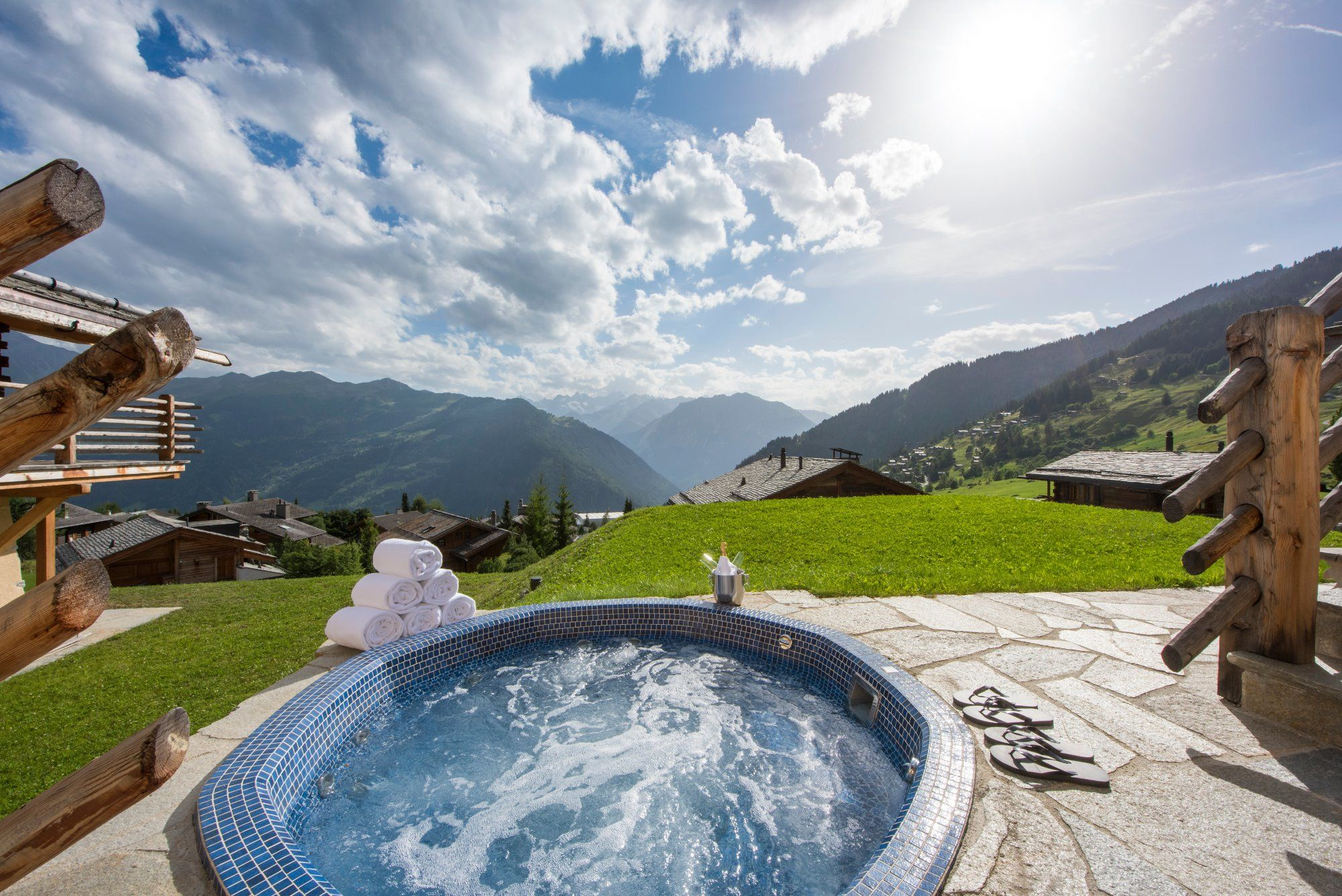 LUXURY SUMMER CHALET SWITZERLAND
