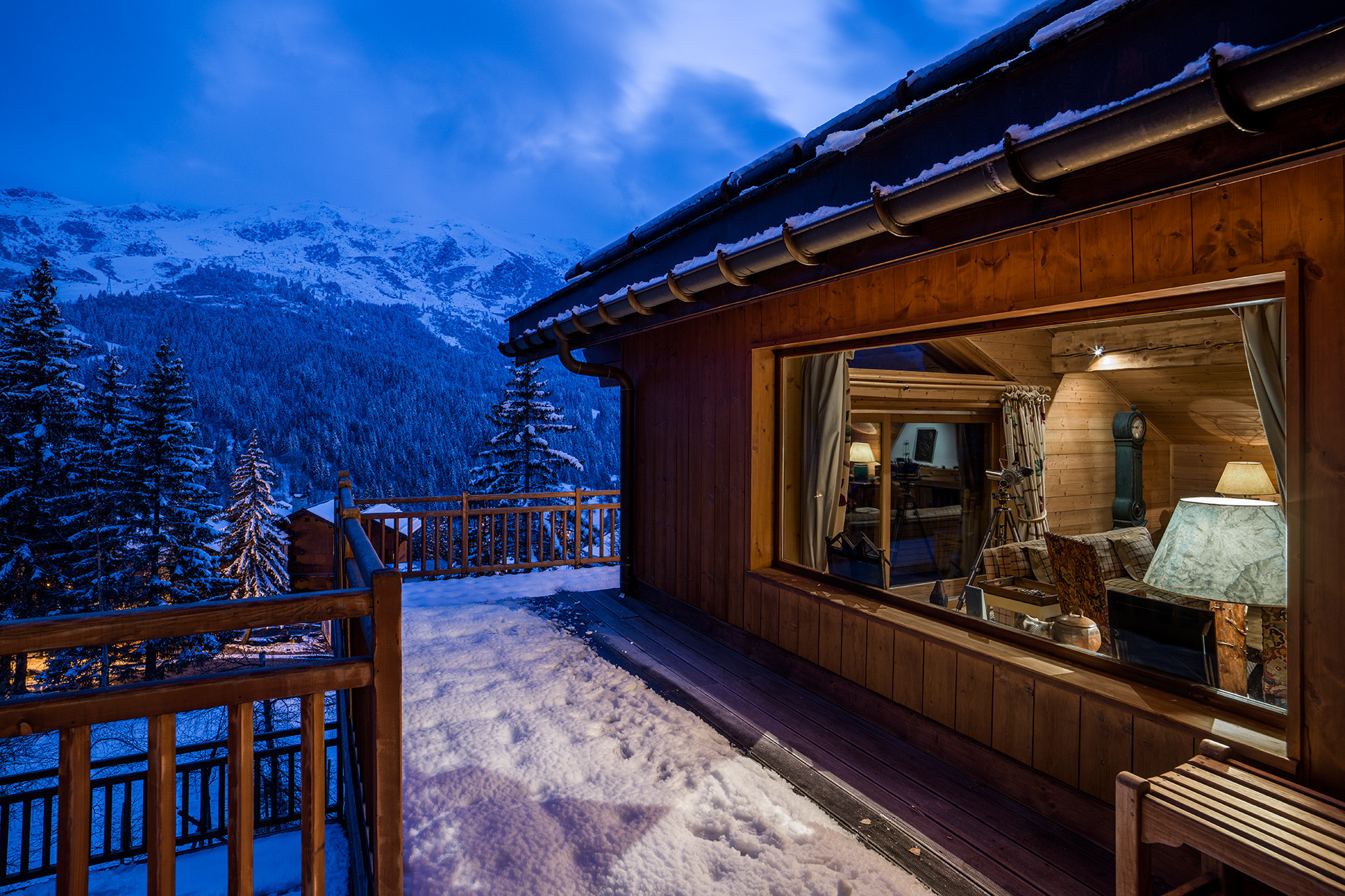 Stunning view chalet meribel