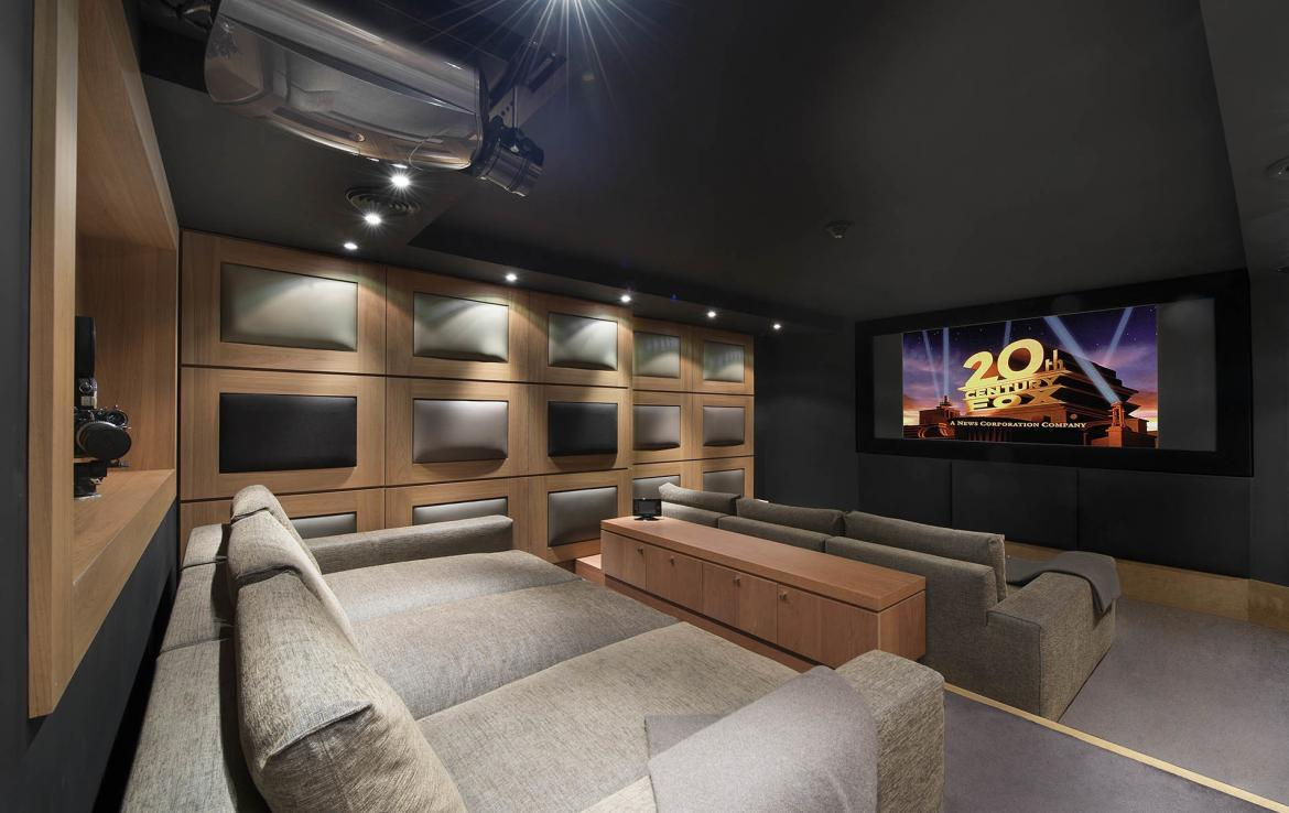 CINEMA ROOM ART CHALET