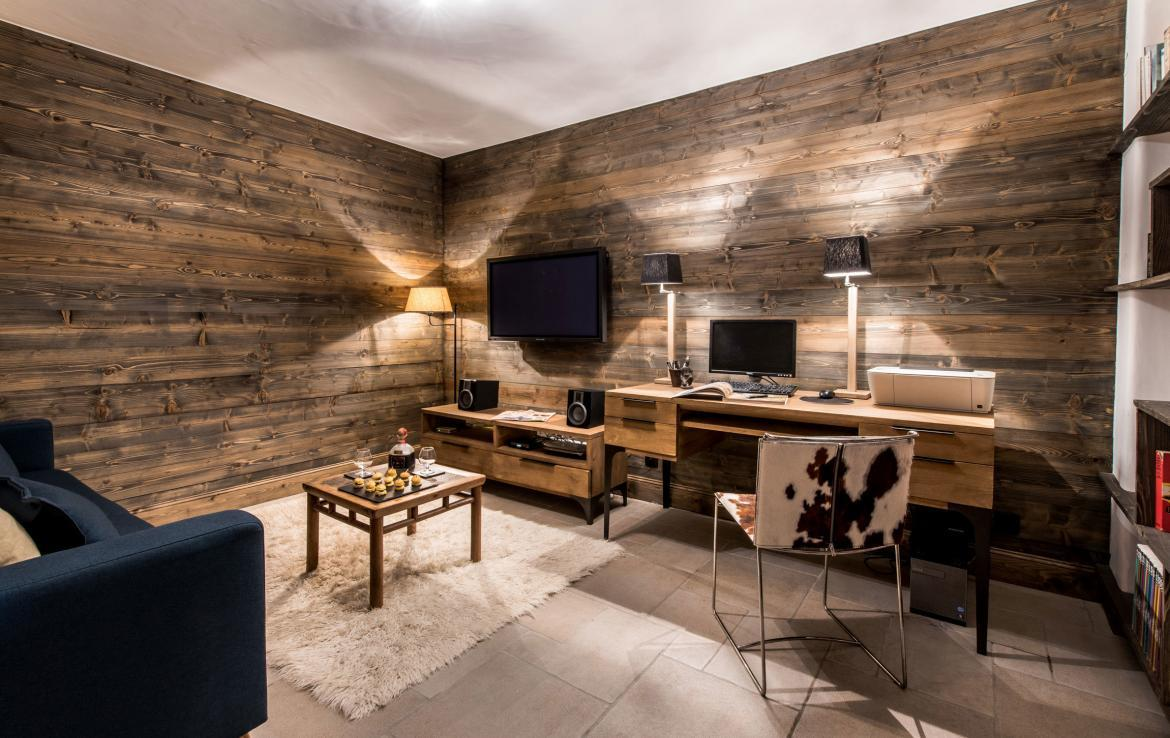 Chalet Courchevel-Aster-Office