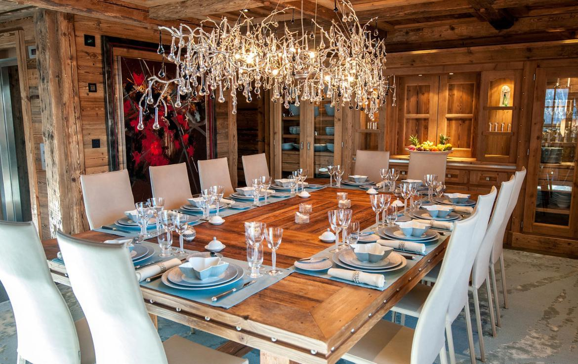 DINING TABLE ART CHALET