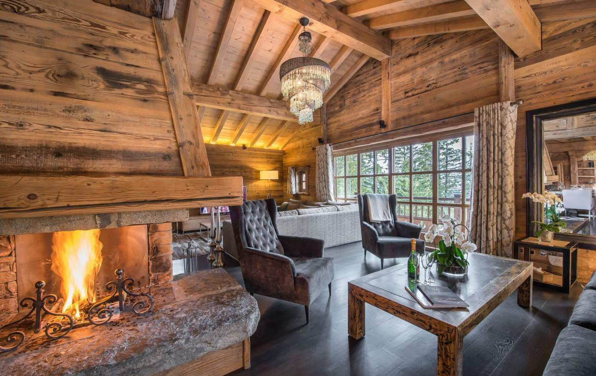 Luxury chalet in courchevel 1850 for 020 interieur