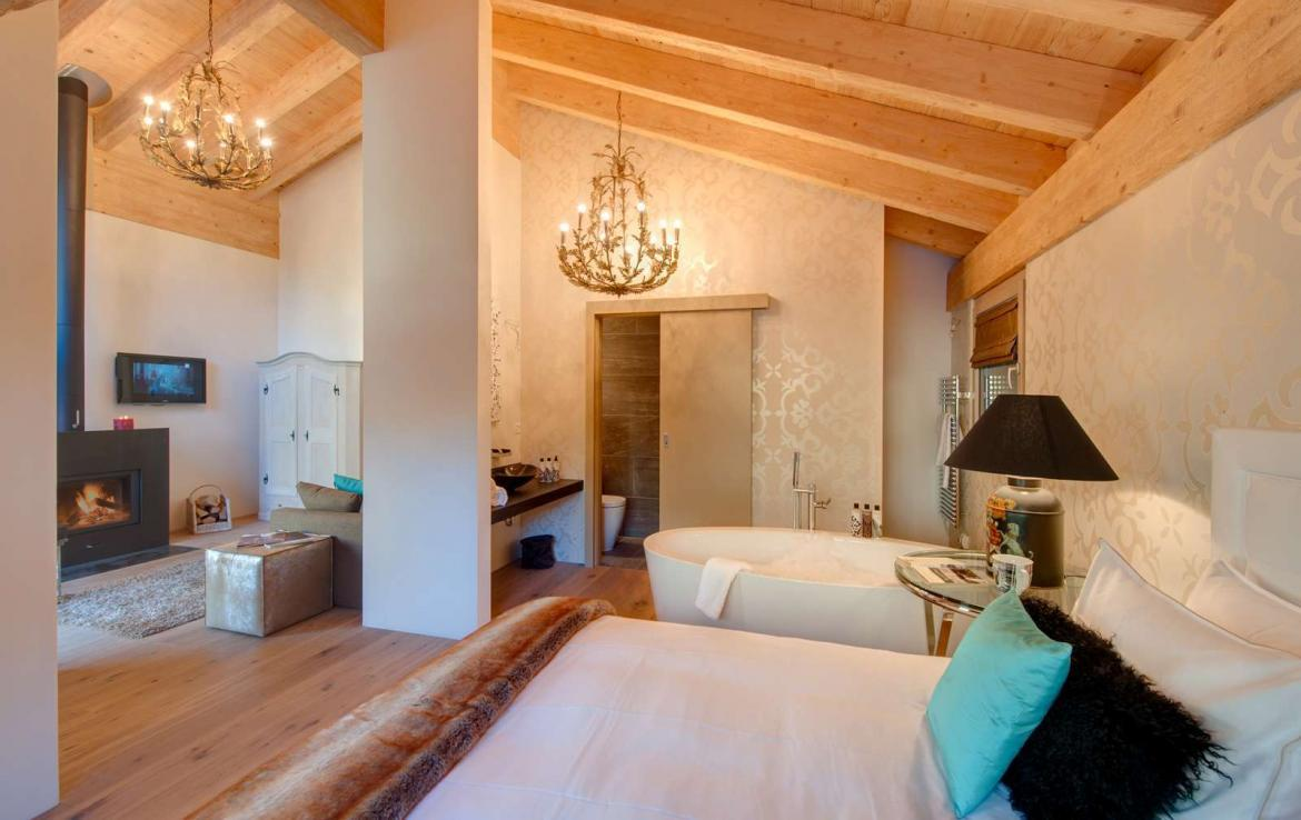 free standing luxury chalet in zermatt. Black Bedroom Furniture Sets. Home Design Ideas