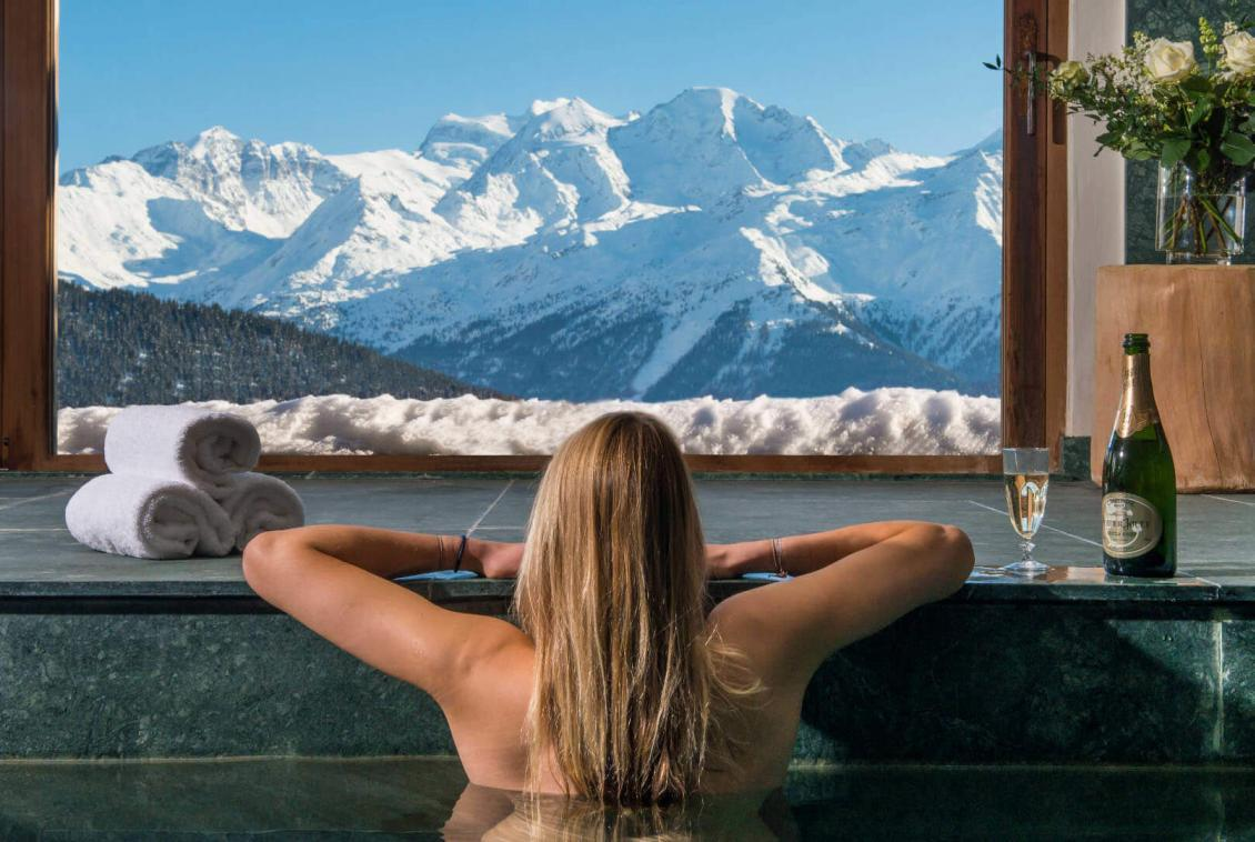 CHALET SWIMMING POOL VERBIER