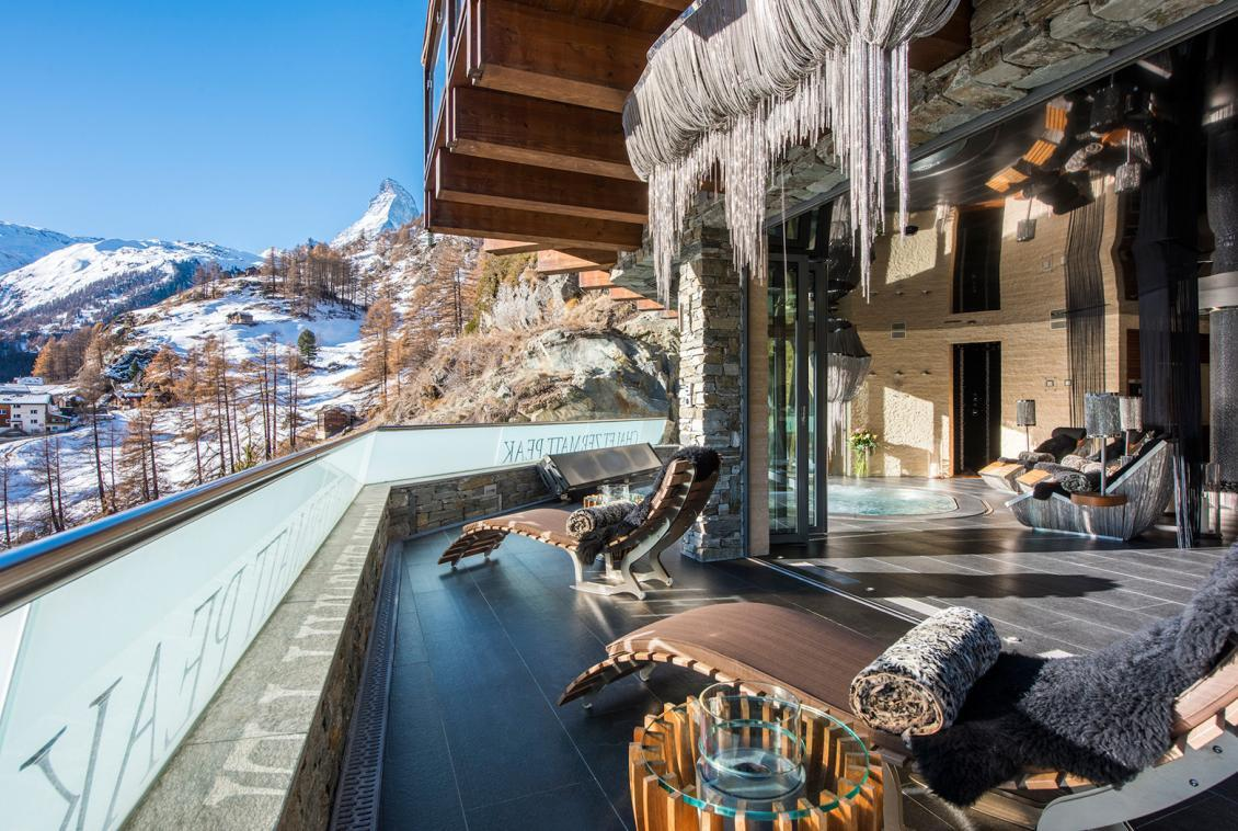 Spa Terrace Chalet Zermatt