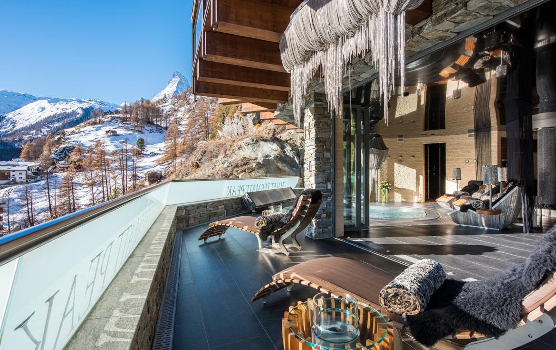 Spa Terrace Chalet Zermatt