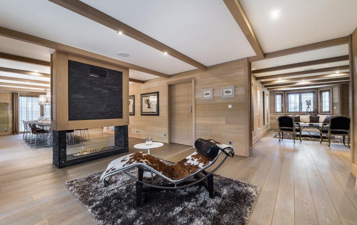 chalet vermieten courchevel luxus