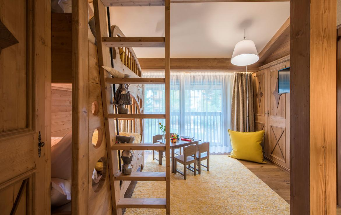 kids-bedroom-chalet lech austriche