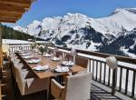lunch terrace lech chalet uberhaus