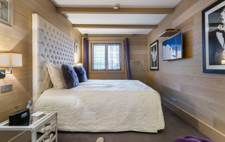slaapkamer courchevel