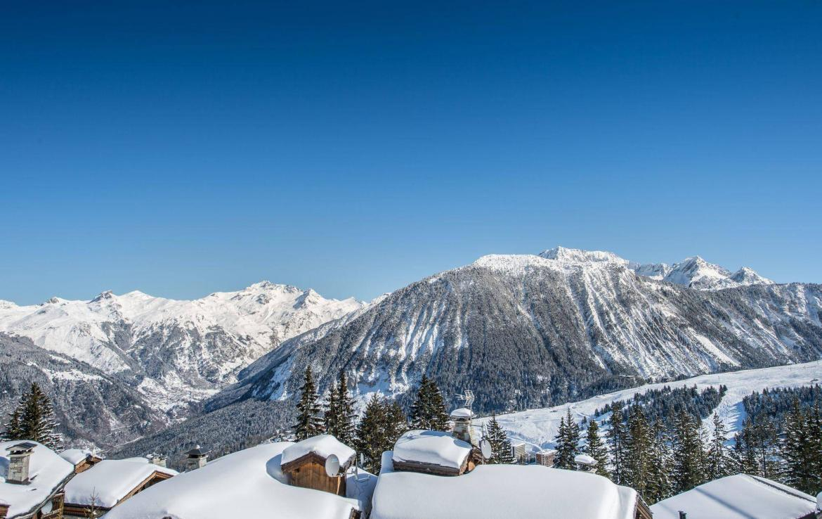view chalet white dream courchevel 1850