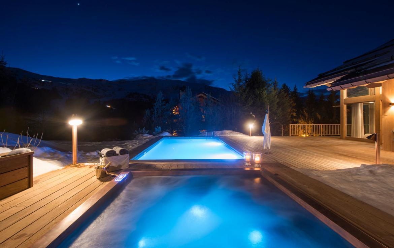 chalet de luxe piscine a meribel