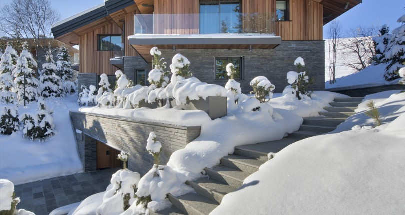 video luxury chalet courchevel