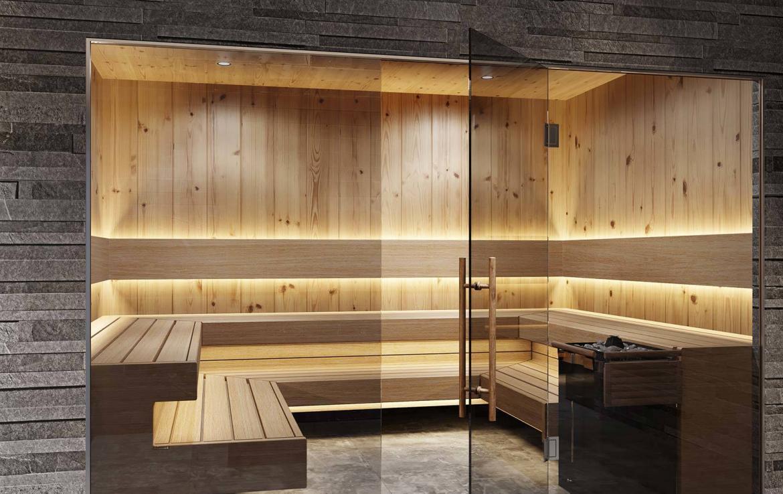 sauna chalet lech