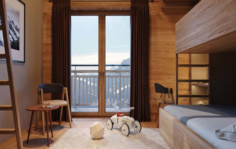 bedroom chalet lech