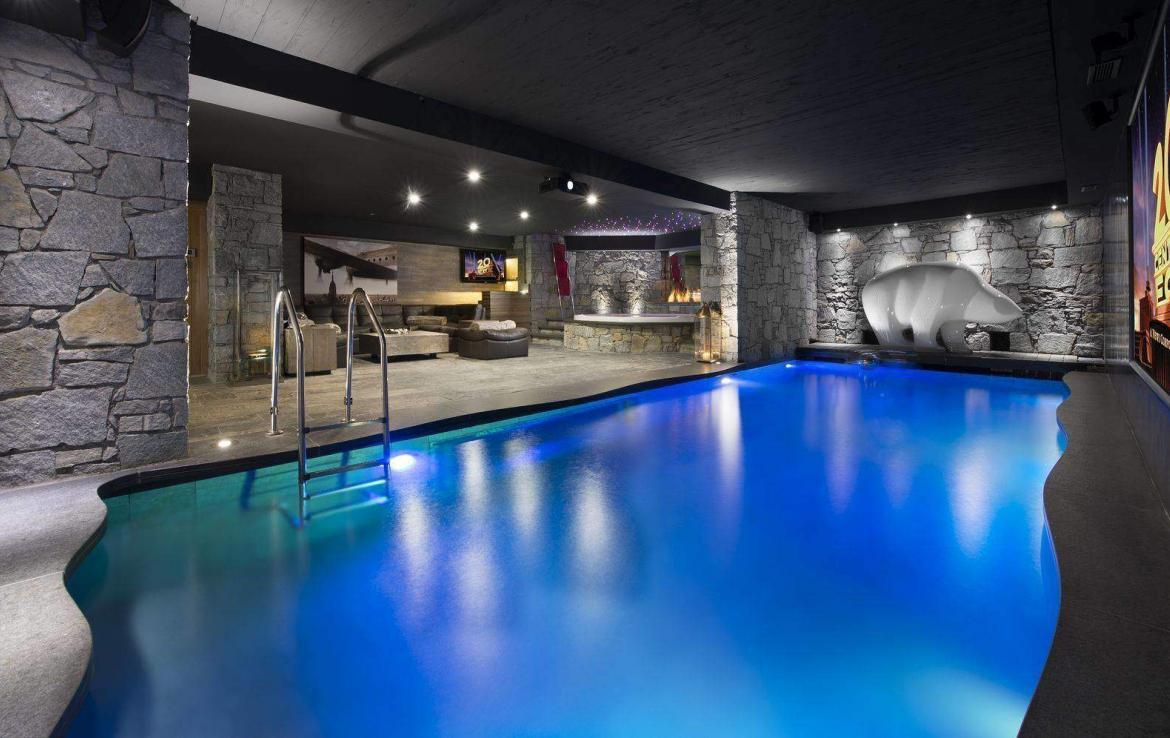 Swimming Pool Chalet Le Rocher Courchevel