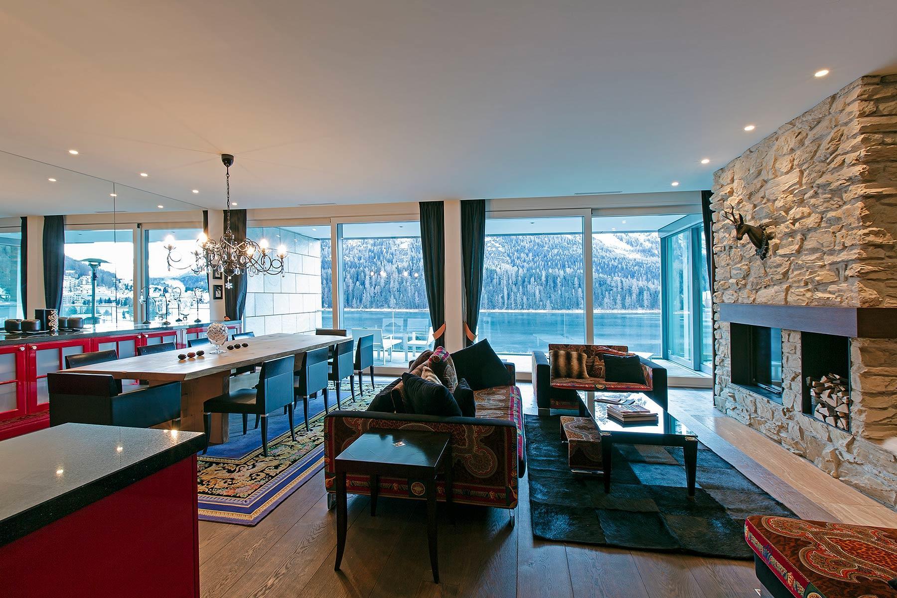 Luxury apartment St Moritz