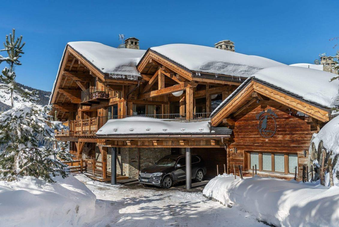 Luxury Chalet Meribel village