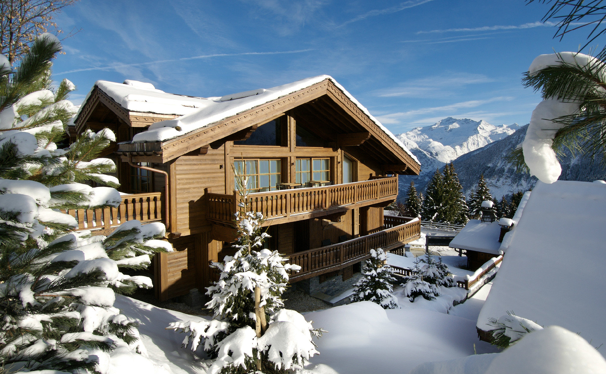 courchevel 1850 chalets